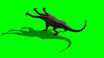 hydra roar - green screen