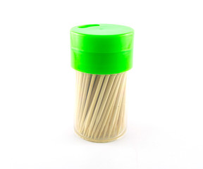 Toothpick white background