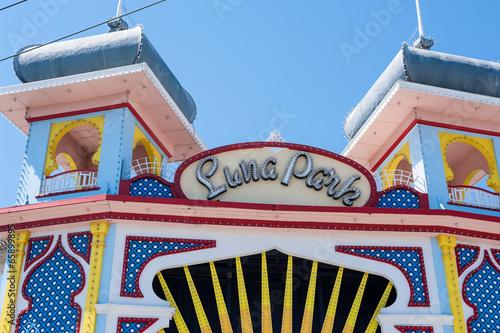 Papiers peints Attraction parc Luna Park, Melbourne