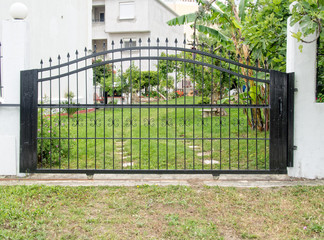 Closed security gates