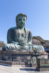 Kamakura,Japan - March 23 , 2014 :  Great Buddha in Kamakura