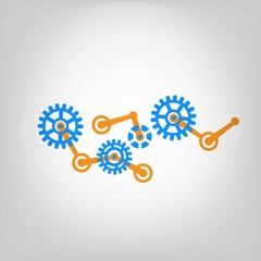 Gears vector design