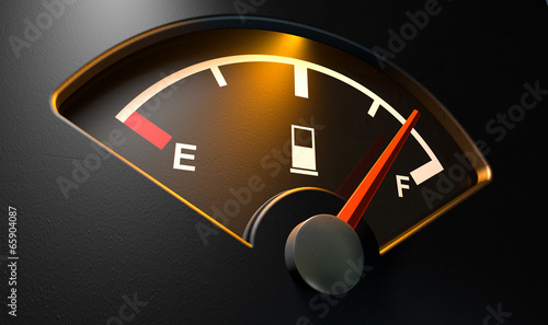 Gas Gage Illuminated Full - 65904087