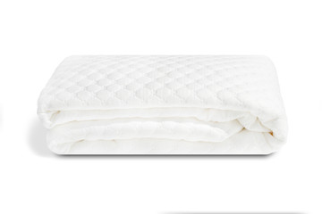 A padded mattress cover in cotton handmade in Italy