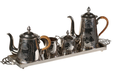 Tea set of ware