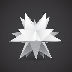 Polyhedron, star shape
