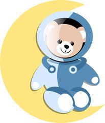 Ourson astronaute