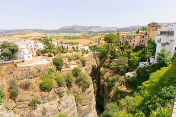 The Puente Nuevo bridge in Ronda