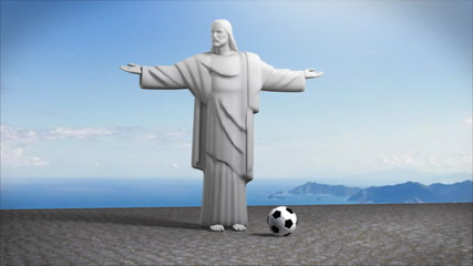 Christ and football