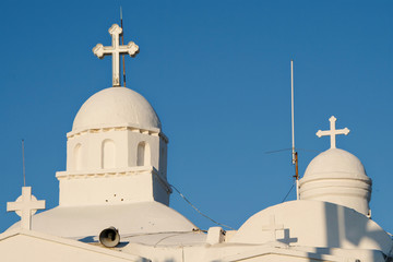 Agios Georgios domes in Lycabettus