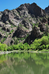 Gunnison river (Black canyon of the Gunnison Natl Park, CO)