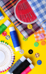 Sewing, needlework, hobbies, accessories