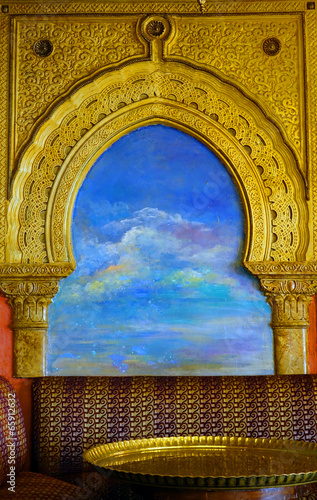 Papiers peints Maroc Décoration orientale colorée
