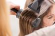 Leinwanddruck Bild - Hair drying.