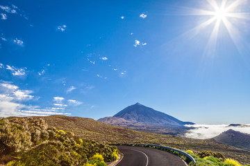 Teide volcano. Canary islands.