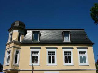 Eckhaus in der Detmolder Straße in Oerlinghausen bei Bielefeld