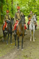 Hussar, Cavalier on a horse