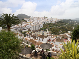 Frigiliana one of the white villages of Andalucia Spain