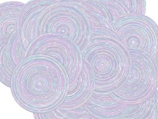ランダムな円形の背景素材
