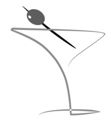 illustration of cocktail