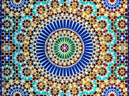 Foto op Aluminium Marokko Décoration orientale