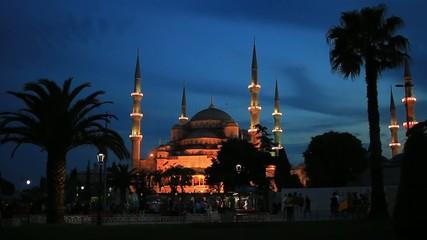 Sultan Ahmet Camii. Istanbul's imperial Mosque