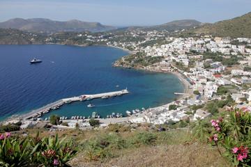 Hafen von Panteli auf der Insel Leros