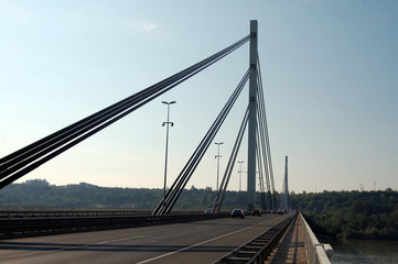 bridge in Novi Sad, Serbia