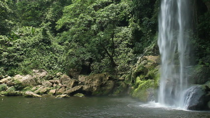 Misol ha waterfall near Palenque, Mexico