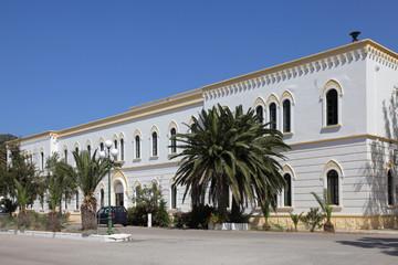 ehemalige Marine-Kaserne in Lakki, Leros