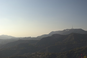 Los Angeles-USA, October, 3:View at Hollywood Hill in Los Angele