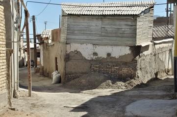 ブハラ路地裏、ウズベキスタン