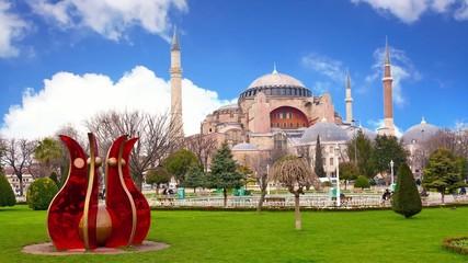 Timelapse of Hagia Sophia as a World Wonder