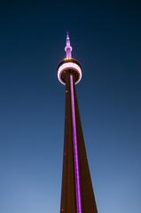 CN Tower in Toronto at night