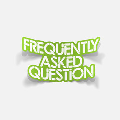 design element: Frequently Asked Question