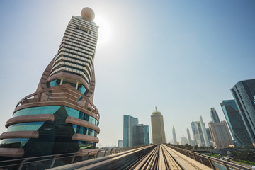 Dubai Metro as world's longest fully automated metro network (75