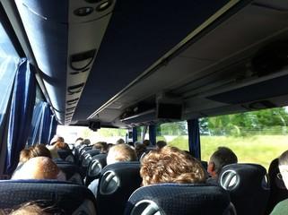 voyageurs en bus