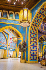 Battuta Mall is the most beautiful supermarket in Dubai