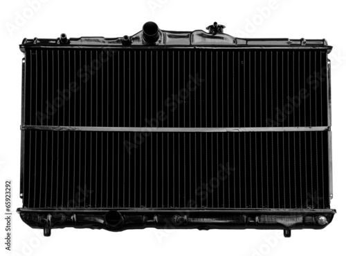 Radiator isolated on white - 65923292