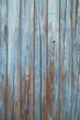 Leinwandbild Motiv old blue wood wall
