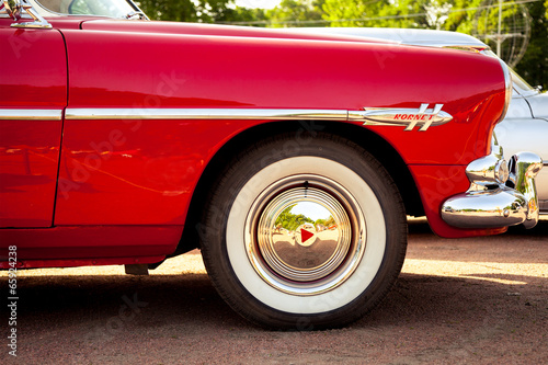 Poster Vintage cars classic car wheel