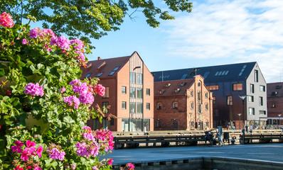 Old town of Klaipeda. Lithuania