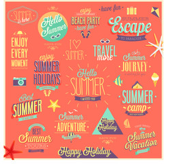 Summer and Travel set