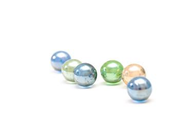 Shone glass balls