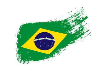brazylijska flaga wektor
