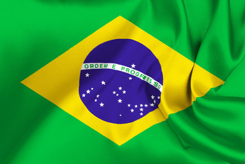 Cotton flag of Brazil