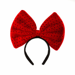 Head Bands with red bow.