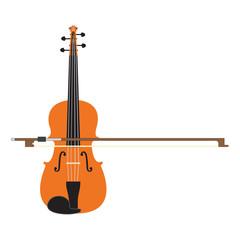 Violin making music