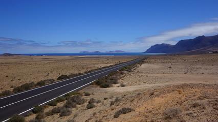 Lanzarote. Carretera A Famara