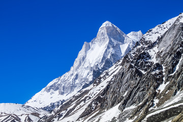 Mount Shivaling in the Indian Himalayas